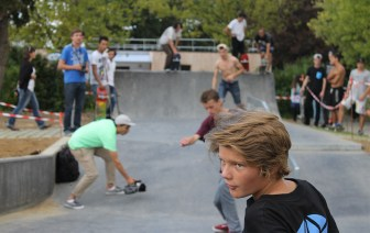 Guillaume Laurie - Inauguration skatepark la Chapelle