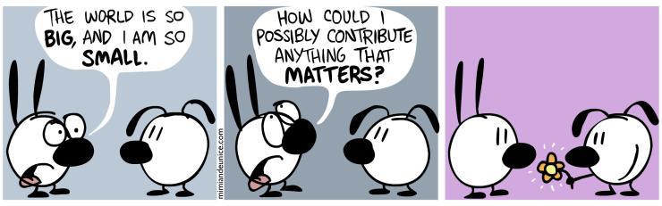 sense to contribute something