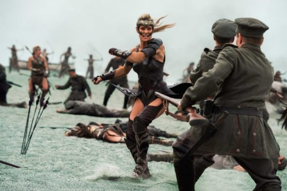 fight scene wonder woman