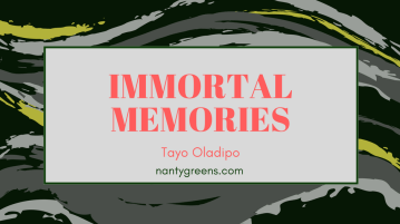 Immortal Memories Tayo Oladipo