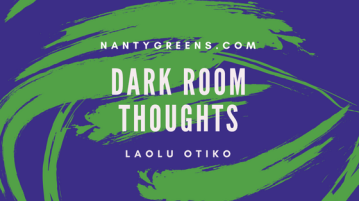 dark room thoughts