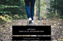astray obatayo aduramigba