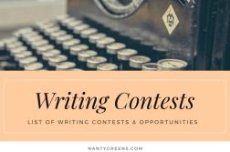 writing contests - nantygreens