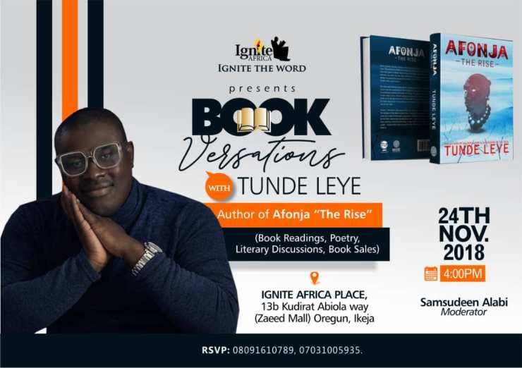 Ignite Africa Bookversation with Tunde Leye, author of Afonja