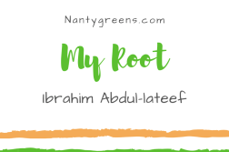 My root Ibrahim Abdul-lateef