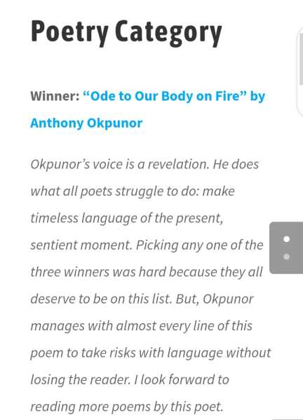 on Anthony Okpunor in Kreative Diadem