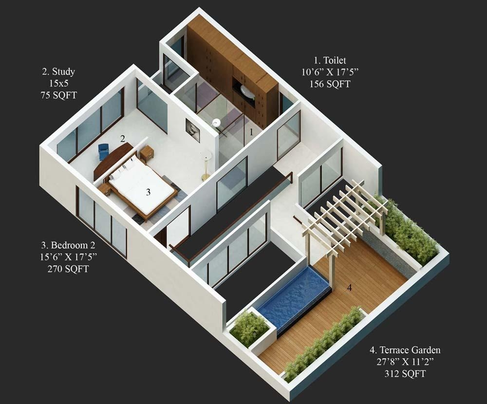 40 X 60 House Plans