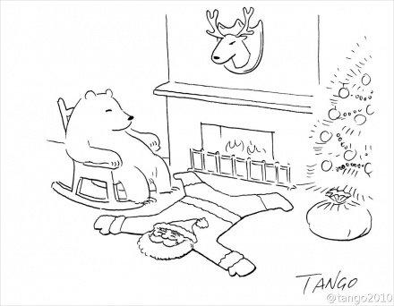 Забавные мини-комиксы от художника Tango