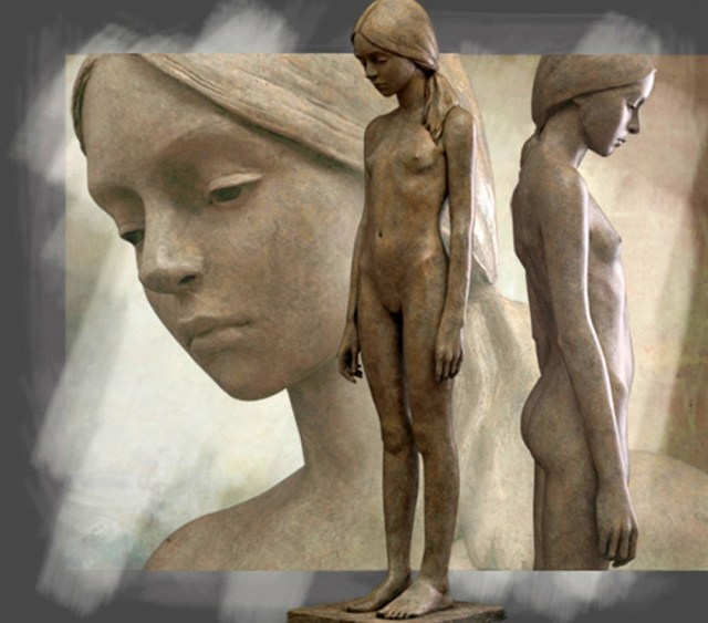 Хрупкая чистота детства в скульптурах Berit Hildre