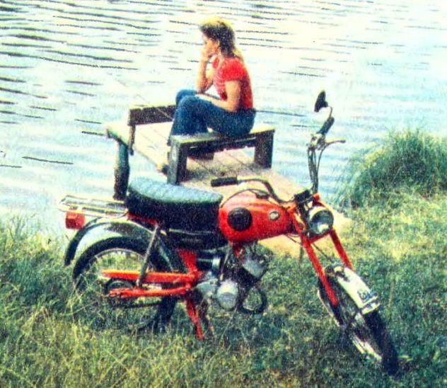 Мопед Карпаты-2 1991 года с пробегом 6 км