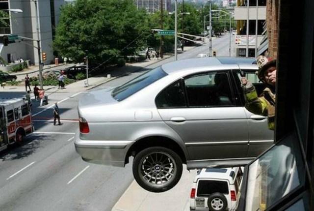 Дорожно-транспортные происшествия, которые выглядят как кадры фильмов