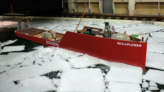 Голландцы построили яхту-ледокол класса люкс