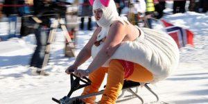 Пора зимних безбашенных развлечений