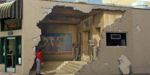 Невероятные 3D-обманки Джона Пью