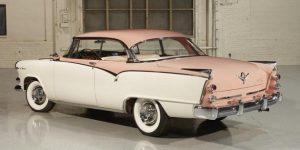 «Розовый дамский автомобиль» 1950-х годов