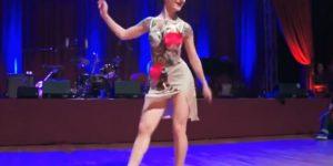 Танцевальный фейерверк Ксении Пархатской