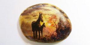 Живописные камни Виктора Ковалева