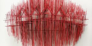 Давид Морено: завораживающие архитектурные скульптуры из стальных стержней