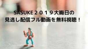 SASUKE(サスケ)2019大晦日の見逃し配信フル動画を無料視聴!ネット配信をスマホで