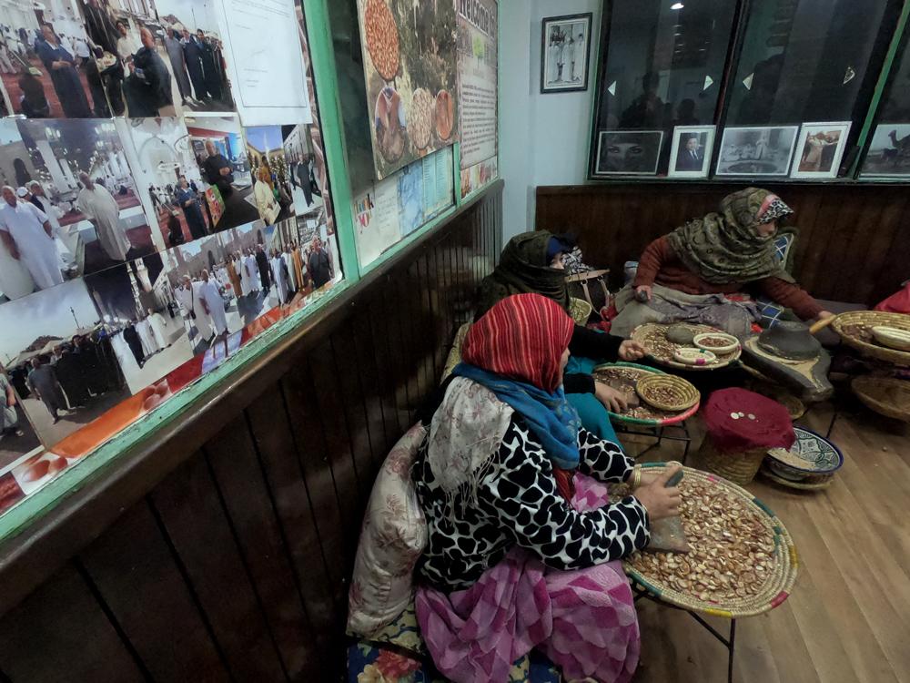 Farmácia berbere na medina de Marrakech
