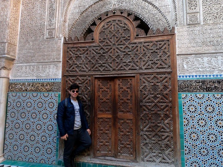 Madrassa na medina de Fez