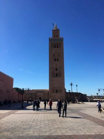 Mesquita em Marrakech