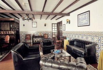 Sala de estar do Hotel Rainha Princesa Santa Isabel