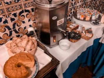 Café da manhã hotel Santa Isabel