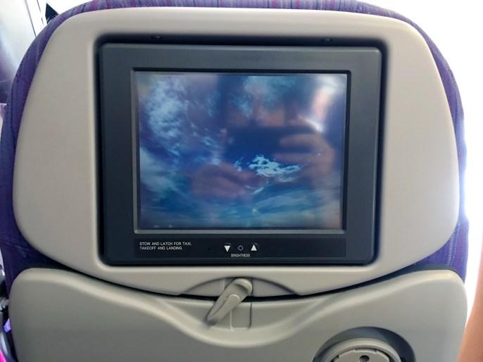 Monitor: Classe econômica Thai Airways 777-200ER