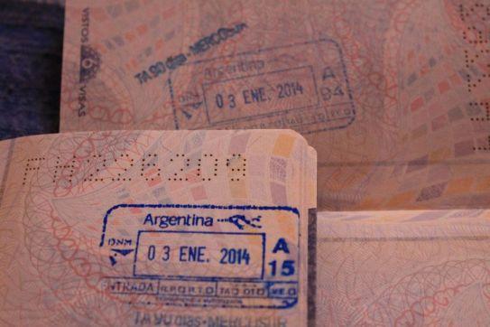 Passaporte carimbado!