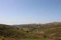 Vista sobre a aldeia de Castanheira