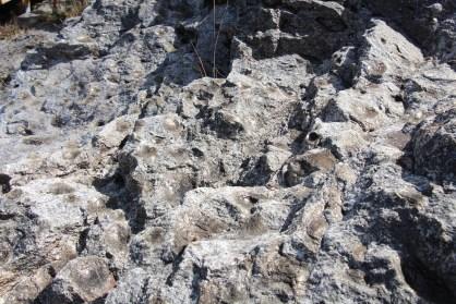 """As pedras mãe e os seus baixos relevos que foram em tempos ocupados pelas suas """"filhas"""""""