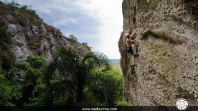 Humberto escalando no setor Valecito
