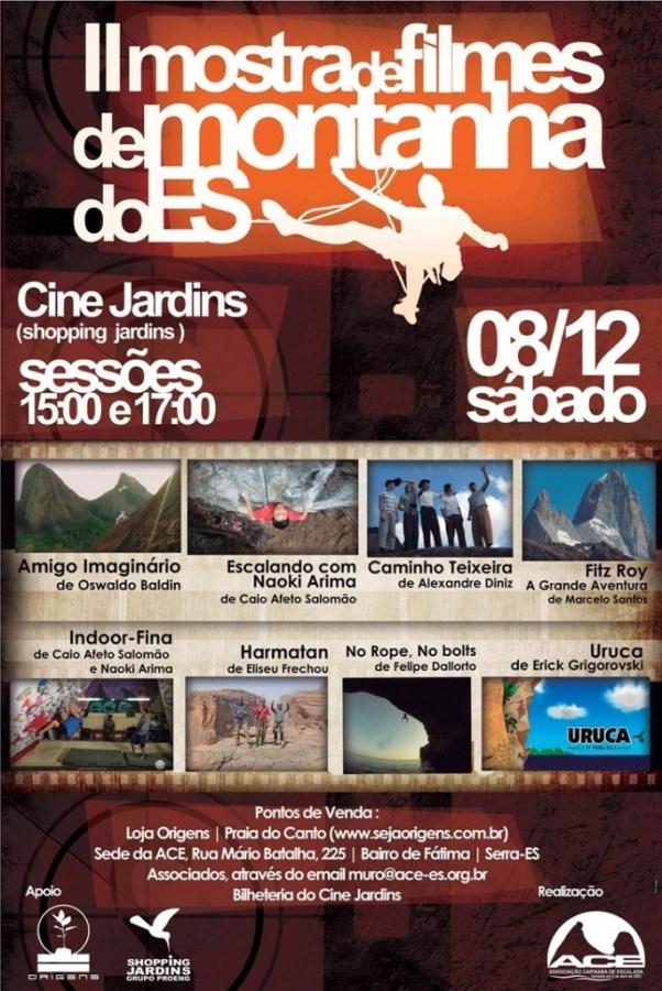 Cartaz Mostra de Filmes do ES
