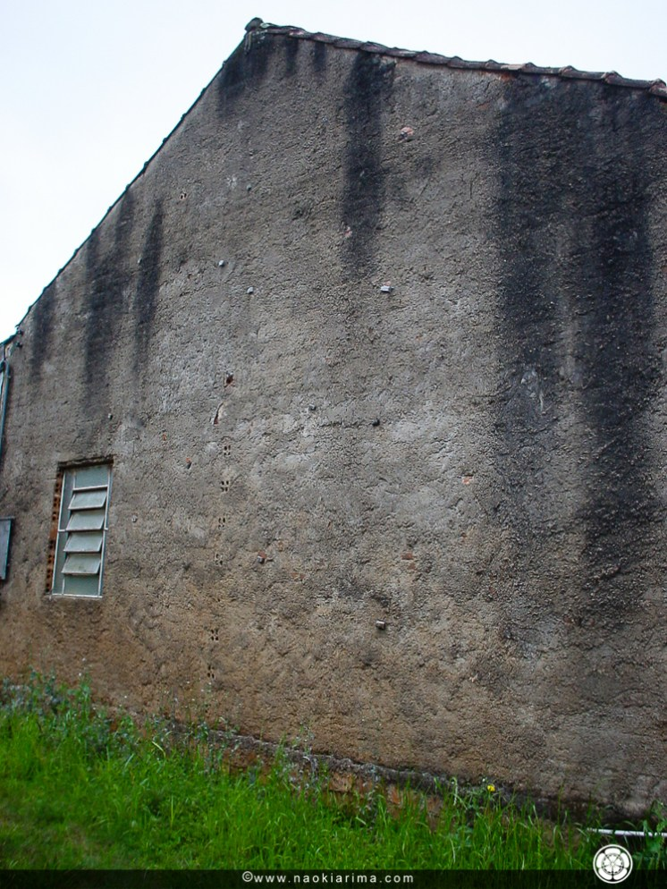 Muro de escalada! Construído em 1995.