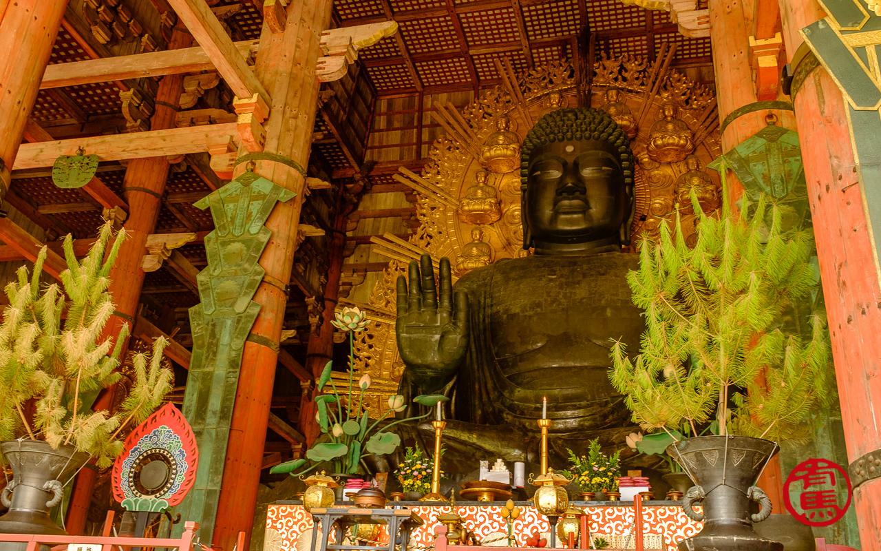 Daibustu, o grande Buda.
