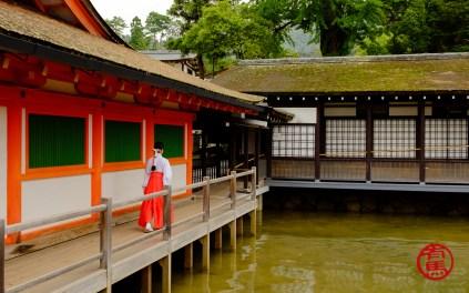 Itsukushima Shrine.