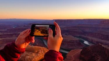 Até no celular fica bonito.