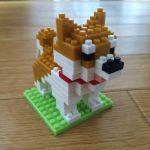 100均のプチブロックで柴犬を組み立ててみた – PETIT BLOCK –