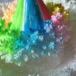 尿管結石になったので、記念にダイソーのキットで結晶を作ってみた