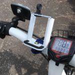 自転車用のスマホホルダーを自作してみた(216円)