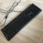 ジャンクのゲーミングキーボードを買ってみた – BSKBC02BKF –