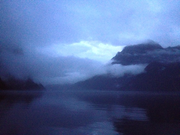 Morning in Milford Sound