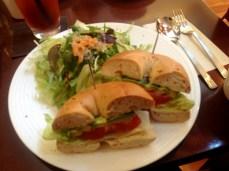 Bagel lunch