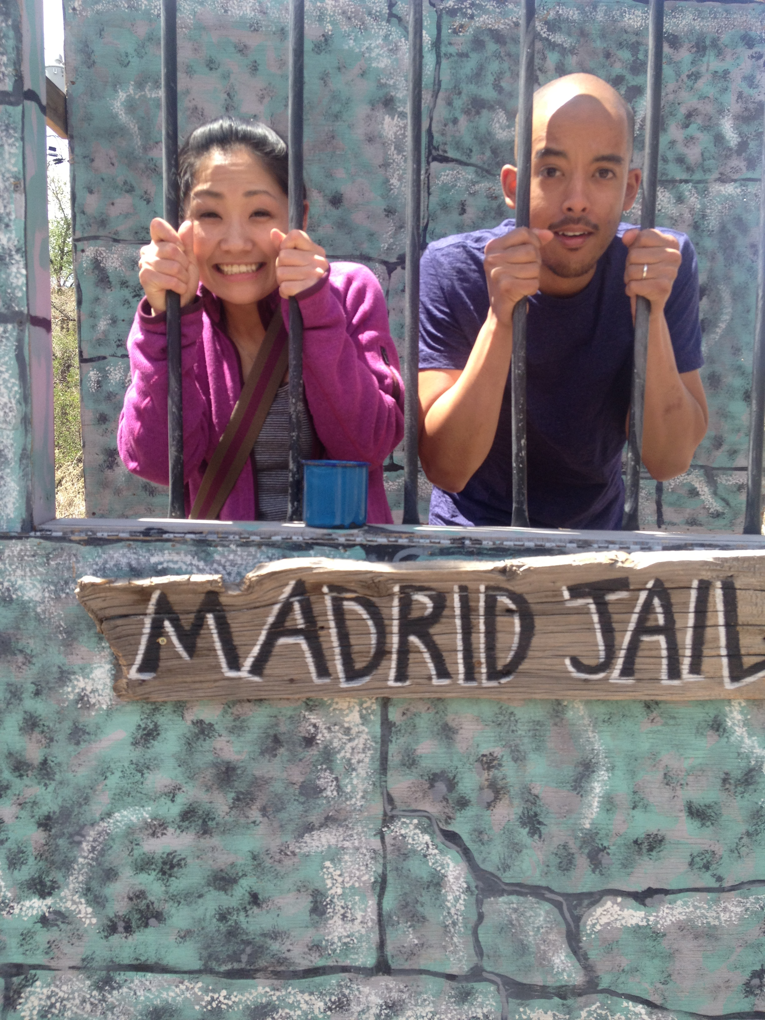 With Karim in Madrid Jail