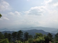 View from the Mt. Takao mountain top