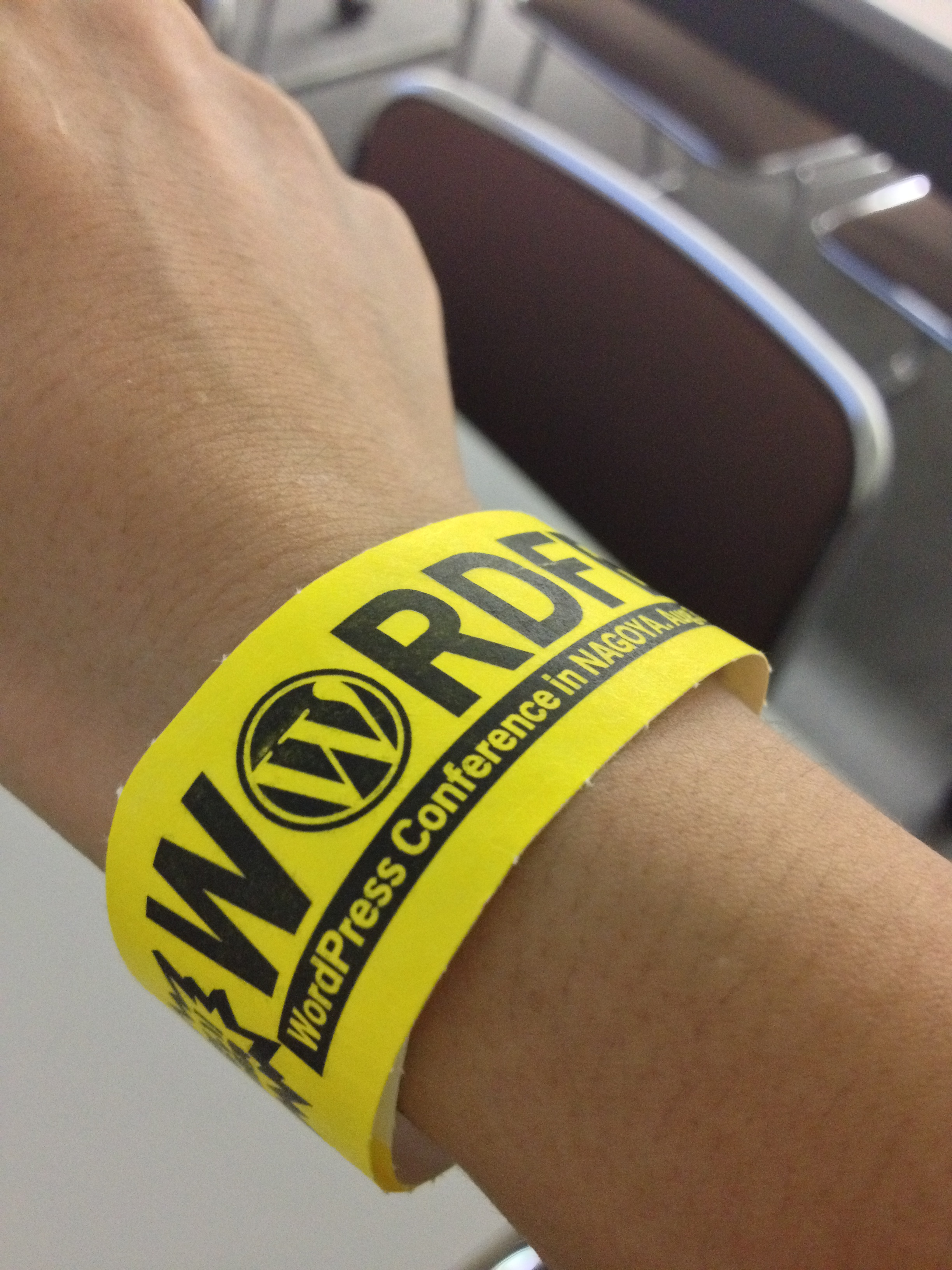 WordFes Nagoya wristband