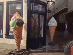 Leiden ice cream shop