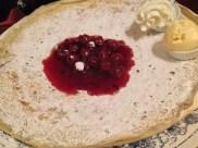 Dutch Pancake with Cherries