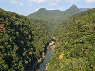 View from Matsumine Ohashi